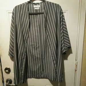 Native Youth Lightweight Striped Kimono